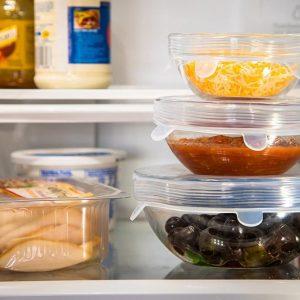 روکش سیلیکونی کشی ظروف و مواد غذایی
