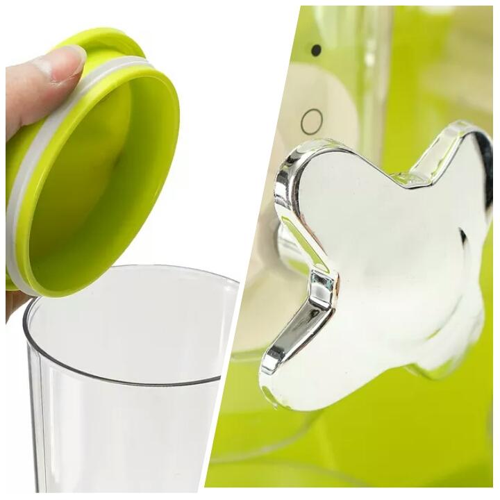 جاحبوباتی دوقلوی شیردار رو میزی