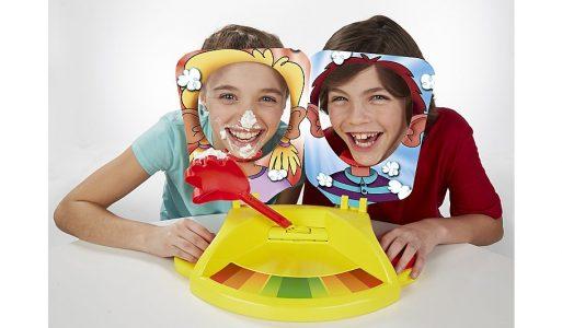 بازی دو نفره ی pie face