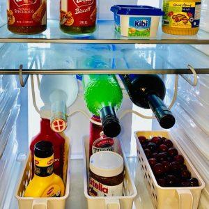 استند بطری داخل یخچال