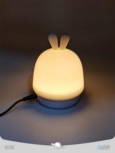 چراغ خواب سلیکونی خرگوش