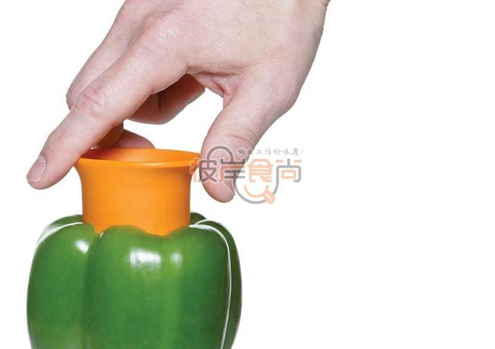 خالی کردن دانه های فلفل