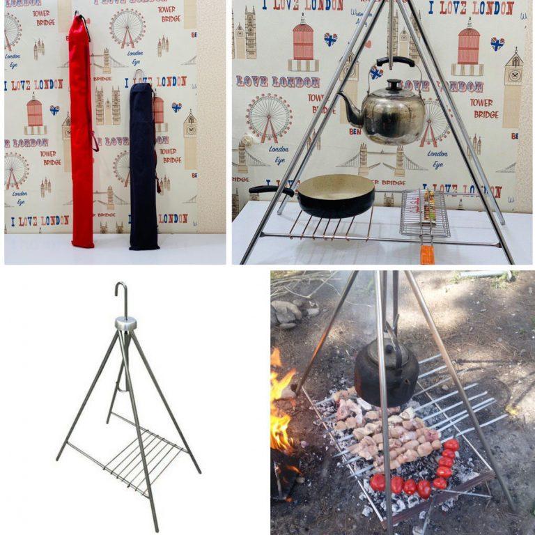 منقل چهارپایه ی آتش