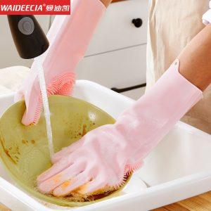 دستکش سیلیکونی ظرف شویی