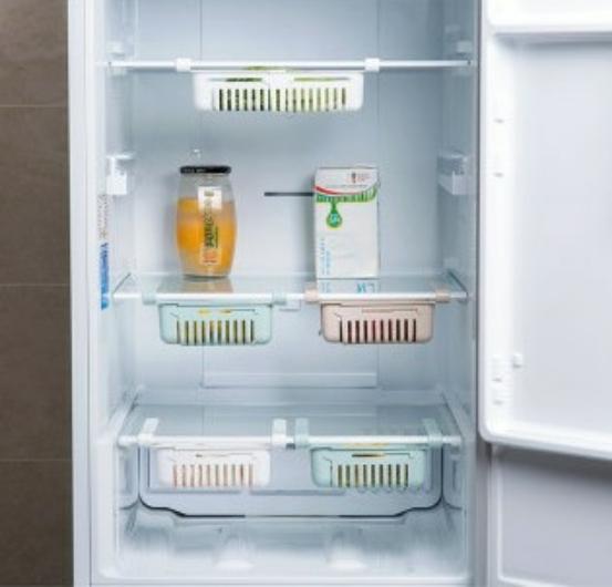 شلف کشویی داخل یخچال