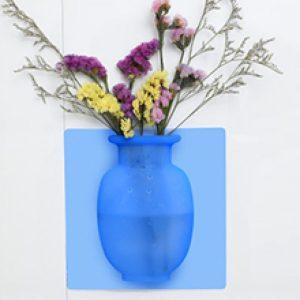 پک 3 تایی گلدان سیلیکونی چسبدار