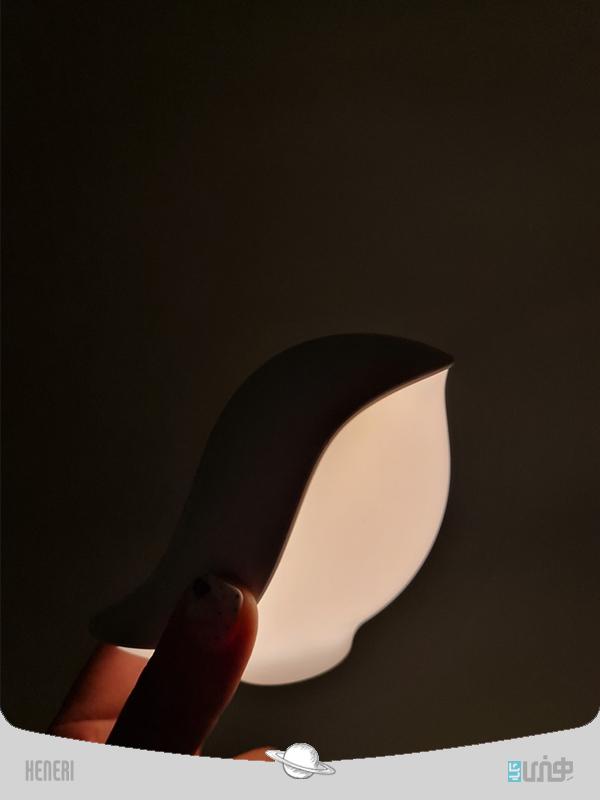 چراغ خواب و شارژر وایرلس گنجشک