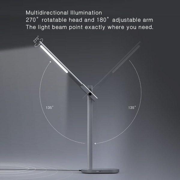 چراغ رومیزی وایرلس شارژ Q.led مومکس
