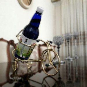 نگهدارنده بطری طرح سه چرخه
