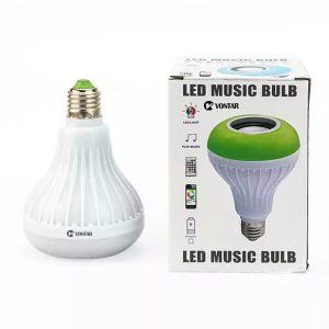 لامپ هوشمند و اسپیکر بلوتوث با ریموت کنترل
