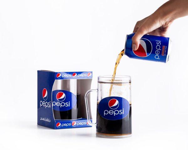 لیوان فراستیماگ طرح پپسی