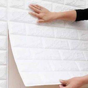 دیوار پوش طرح آجر